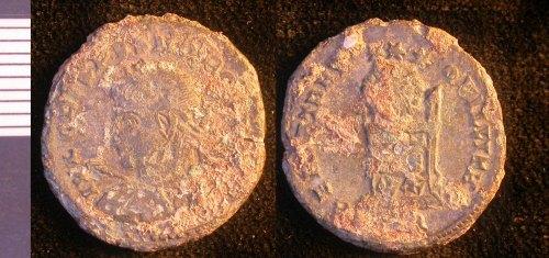 LEIC-995177: Roman copper alloy nummus