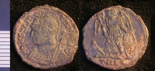 LEIC-998B22: Roman copper alloy nummus