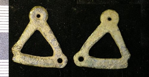 LEIC-9D0F71: Unknown copper alloy object