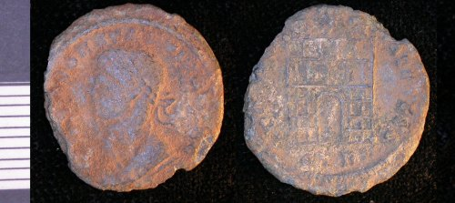 LEIC-AD37F8: Roman copper alloy nummus