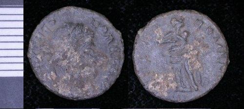 LEIC-B1CAF8: Roman copper alloy coin