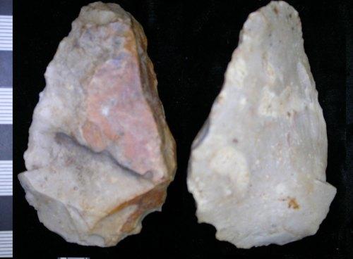 LEIC-B4D542: Neolithic? flint scraper tool