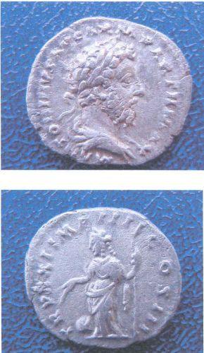 LEIC-B53C28: B53C28 Roman silver denarius of Marcus Aurelius