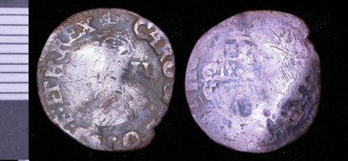 LEIC-B95231: B95231 halfgroat of Charles I