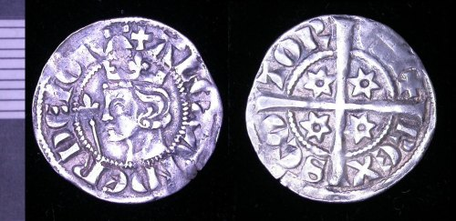 LEIC-33DE63: Medieval scottish silver penny