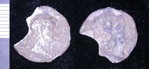 LEIC-3407C8: Roman silver denarius