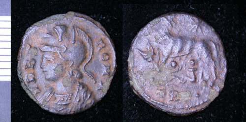 LEIC-344086: Roman copper alloy nummus