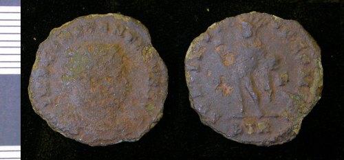LEIC-E754E3: E754E3 Roman copper alloy nummus of Constantine I