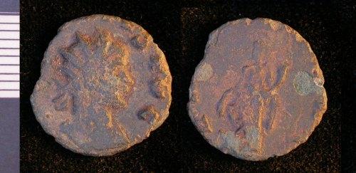 LEIC-EA54C2: Roman copper alloy coin