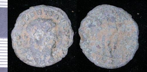 LEIC-EEDB54: Roman copper alloy coin EEDB54