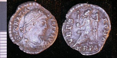LEIC-F0FB15: Roman silver coin F0FB15