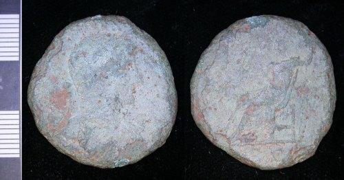 LEIC-F2F390:  Roman copper alloy Sestertius