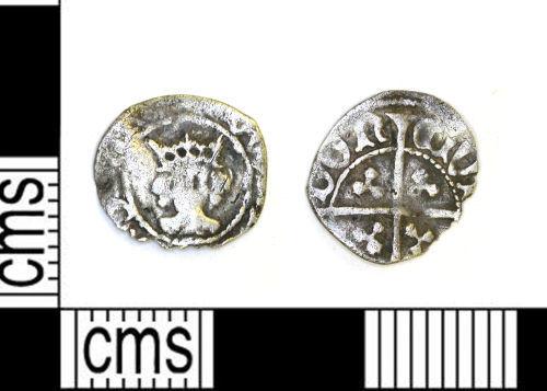 LEIC-213B1A: Medieval halfpenny of Edward IV