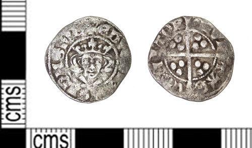 LEIC-3F0D52: Medieval Coin: Penny, Edward