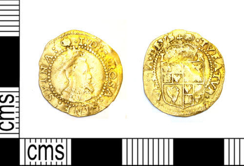 LEIC-5BCFB8: Post Medieval gold coin of James I