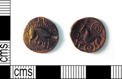 LEIC-5C9523: Iron age silver unit