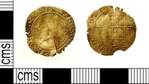 LEIC-85B933: LEIC-85B933: Post medieval coin of Elizabeth I