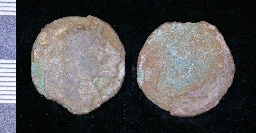 LEIC-BCE2B1: Roman Copper alloy As or Dupondius