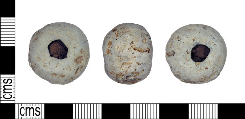 LEIC-041B32: medieval lead alloy weight