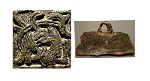 LEIC-0BFA74: early medieval copper alloy brooch? LEIC-0BFA74
