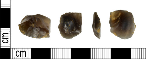 LEIC-2B1BB1: Neolithic to Bronze age flint scraper