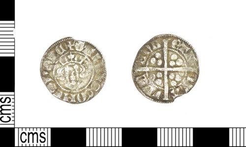 LEIC-32EAB5: Medieval silver sterling imitation