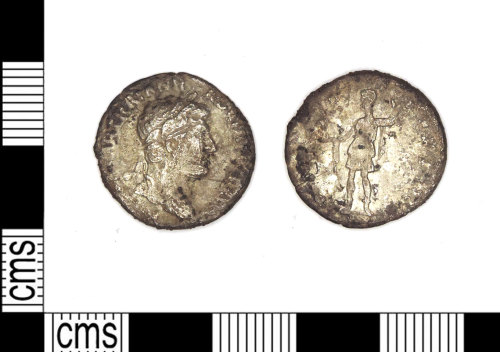 LEIC-3FAEEB: Roman silver denarius of Hadrian