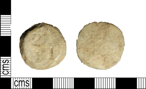 LEIC-408E5B: Post medieval lead alloy trade token