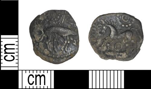 LEIC-433765: Iron age silver unit