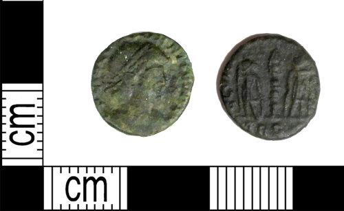 LEIC-4396DD: Roman copper alloy nummus