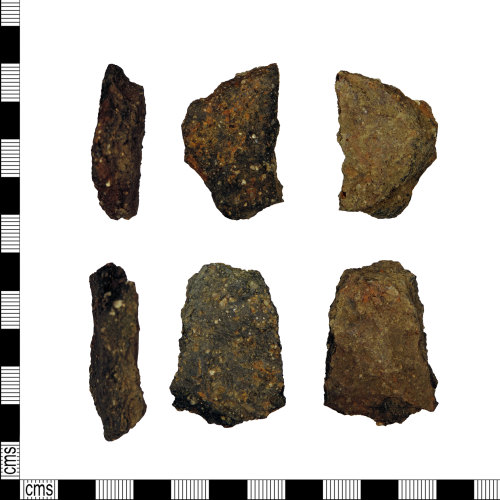 LEIC-5A921A: Iron age or Early Medieval joining sherds