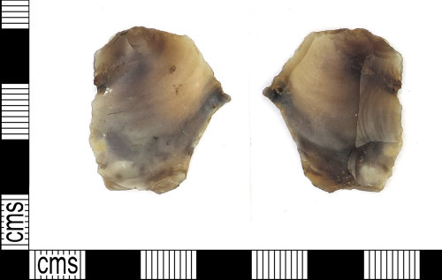 LEIC-5E8561: Mesolithic/Neolithic flint  borer/piercer