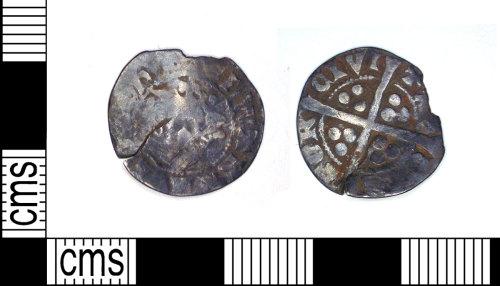 LEIC-6F1484: Medieval silver edwardian penny