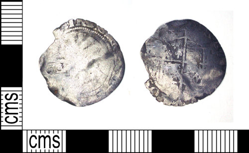 LEIC-6F5FB7: Post Medieval silver coin of Elizabeth I