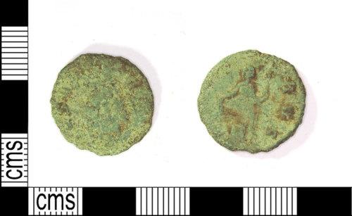 LEIC-6F66A7: Roman copper alloy radiate