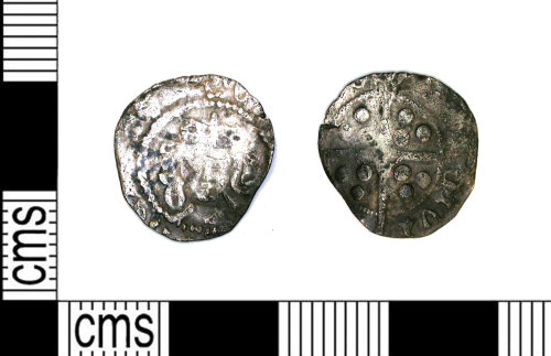 LEIC-76A131: Medieval silver halfpenny