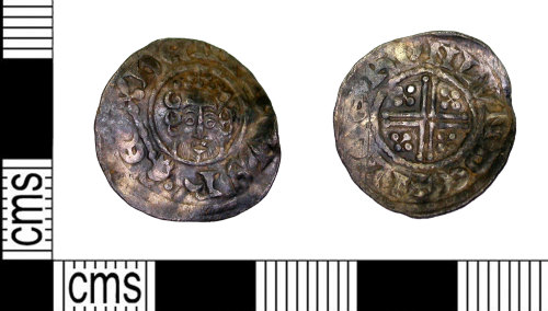 LEIC-7962F3: Medieval silver short cross penny
