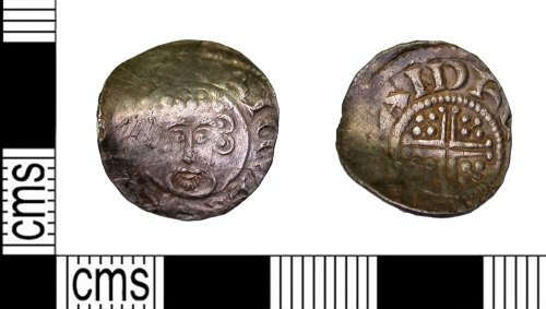 LEIC-79C31F: Medieval silver short cross penny