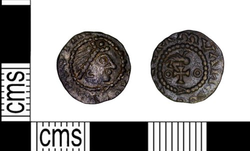 LEIC-79F1DC: Early Medieval silver Sceatta