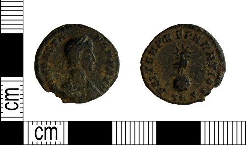 LEIC-7E2CB0: Roman copper alloy nummus of Constans