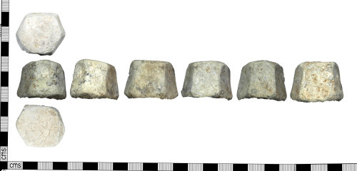 LEIC-87DBF8: medieval or post medieval lead alloy weight?