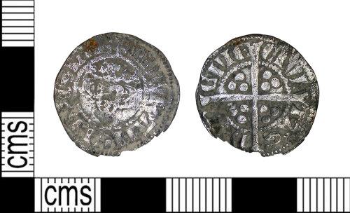 LEIC-9E5976: Medieval silver Edwardian coin
