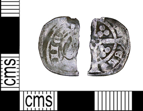 LEIC-9EC0BB: Medieval silver  penny
