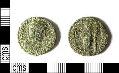 LEIC-B859FD: Roman copper alloy nummus