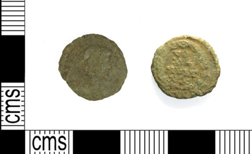LEIC-C8AC2E: Roman coper alloy nummus