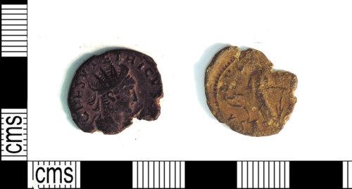 LEIC-CA9387: Roman copper alloy radiate