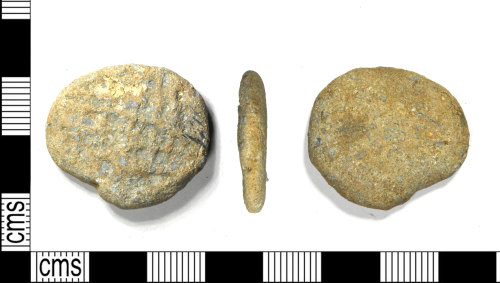 LEIC-DF0339: Post Medieval lead alloy token