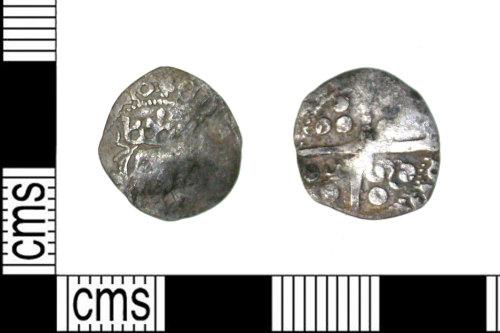 LEIC-F6237F: Medieval silver halfpenny