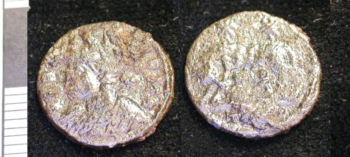 LEIC-9D77E6: c156 Copper alloy nummus Constantine I 330-335, Trier