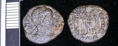 LEIC-DAFD98: C171 Copper allloy nummus Constantine I 330-337, Trier?